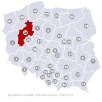 Okręg wyborczy nr 38 (Piła, wielkopolskie) - wybory 2015