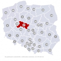 Okręg wyborczy nr 37 (Konin, wielkopolskie) - wybory 2015
