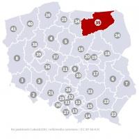 Okręg wyborczy nr 35 (Olsztyn, warmińsko-mazurskie) - wybory 2015
