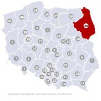 Okręg wyborczy nr 24 (Białystok, podlaskie) - wybory 2015