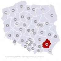 Okręg wyborczy nr 23 (Rzeszów, podkarpackie) - wybory 2015