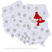 Okręg wyborczy nr 18 (Siedlce, mazowieckie) - wybory 2015