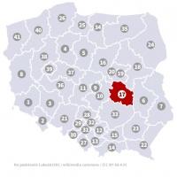 Okręg wyborczy nr 17 (Radom, mazowieckie) - wybory 2015