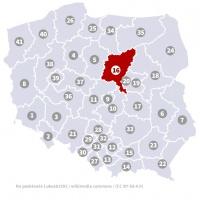 Okręg wyborczy nr 16 (Płock, mazowieckie) - wybory 2015
