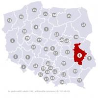 Okręg wyborczy nr 6 (Lublin, lubelskie) - wybory 2015