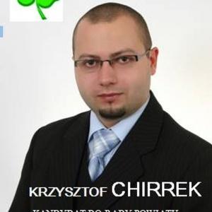 Krzysztof Chirrek - informacje o kandydacie do sejmu