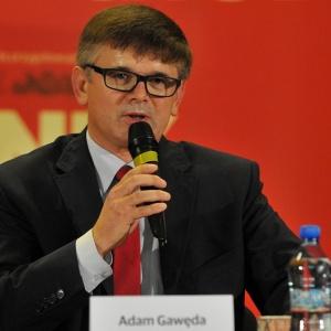 Adam Gawęda - }, informacje o senatorze Senatu IX kadencji