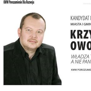 Krzysztof Owoc - informacje o kandydacie do sejmu