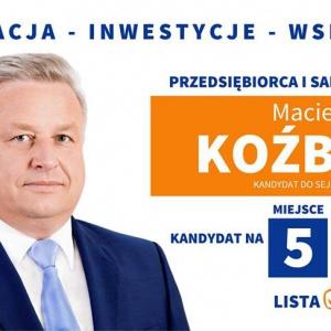 Maciej Koźbiał - informacje o kandydacie do sejmu