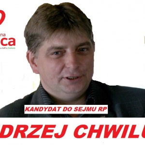 Andrzej Chwiluk - informacje o kandydacie do sejmu
