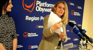 Elżbieta Łukacijewska wystartuje na szefa PO w regionie podkarpackim