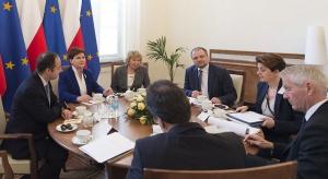 Premier spotkała się z sekretarzem generalnym Rady Europy