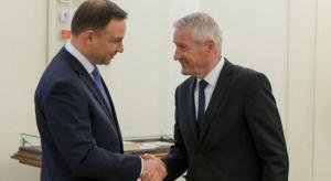 Prezydent Duda spotkał się z sekretarzem Rady Europy