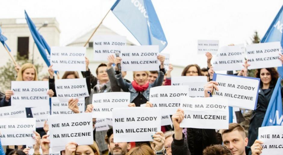 Nowoczesna protestowała przeciw całkowitemu zakazowi aborcji