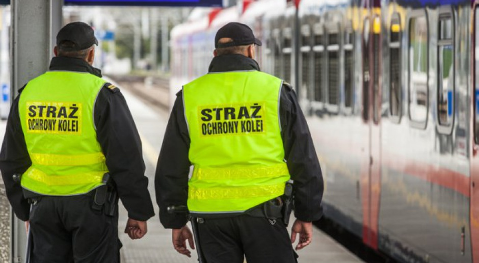 Straż Ochrony Kolei będzie podlegać MSWiA, w pociągach ma być bezpiecznie