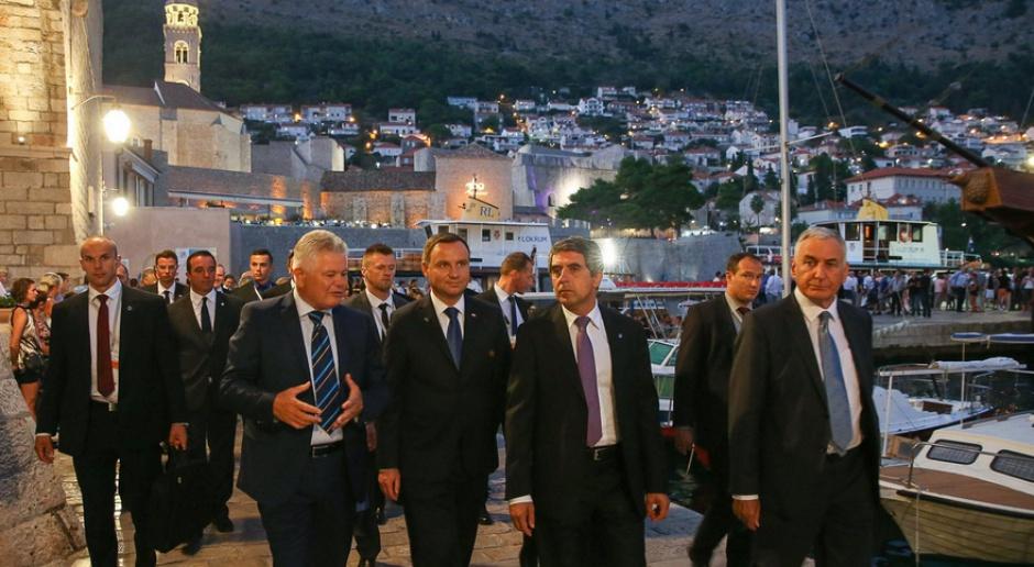 Forum w Chorwacji: Andrzej Duda podpisał deklarację państw Trójmorza