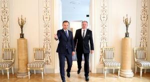 Prezydenci Polski i Słowacji spotkali się w Warszawie