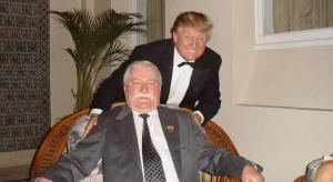 To Wałęsa zainspirował Trumpa do startu w wyborach?