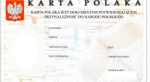 Sejm znowelizował Kartę Polaka