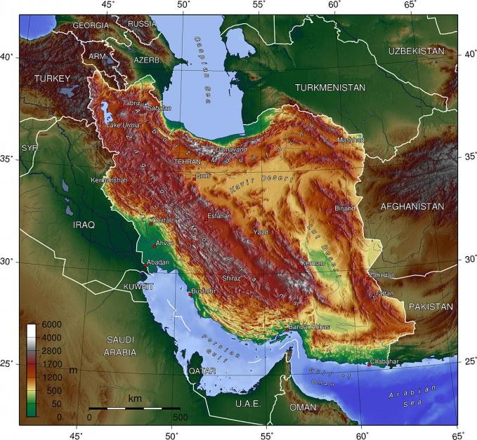 Iran, źródło: wikipedia.org/CC