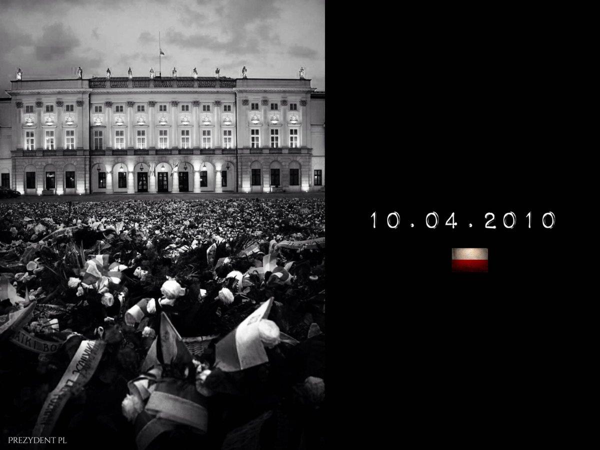 7. rocznica katastrofy smoleńskiej (fot.twitter.com/prezydentpl)