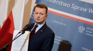 Mariusz Błaszczak: nie powtórzymy błędów imigracyjnych Europy Zachodniej