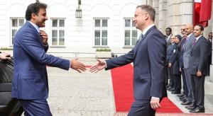 Emir Kataru rozpoczął oficjalną wizytę w Polsce