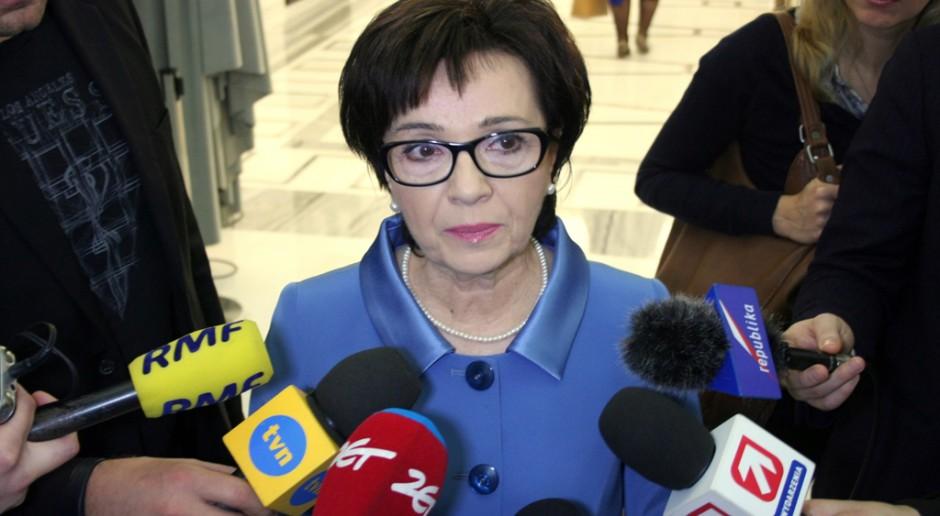Elżbieta Witek (PiS) w Sejmie, źródło: youtube.com