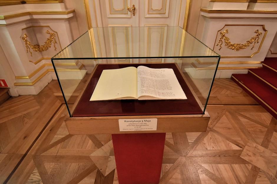 Kopia Konstytucji 3 maja (fot.wikipedia.org/Adrian Grycuk)