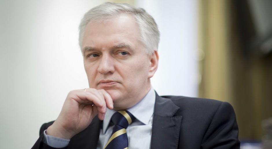 Jarosław Gowin: umowa koalicyjna została jednostronnie zawieszona przez PiS