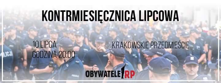 Obywatele RP zapowiadają blokadę miesięcznicy smoleńskiej (fot.twitter.com/obywatelerp)
