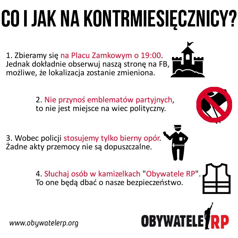 """Obywatele RP, chcą """"bronić ludzkiej godności"""" (fot.facebook.com/pg/ObywateleRP.org)"""
