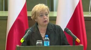 Gersdorf podziękowała zebranym pod Sądem Najwyższym