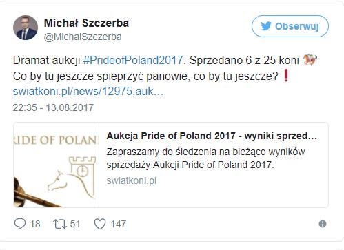 Źródło: twitter.com Michał Szczerba