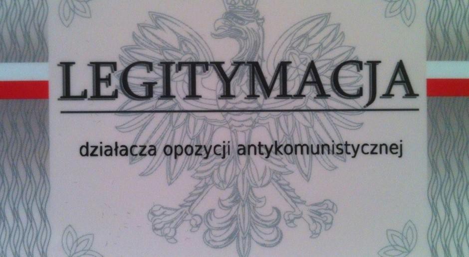 Dożywotnie świadczenie dla opozycjonistów i represjonowanych w PRL-u