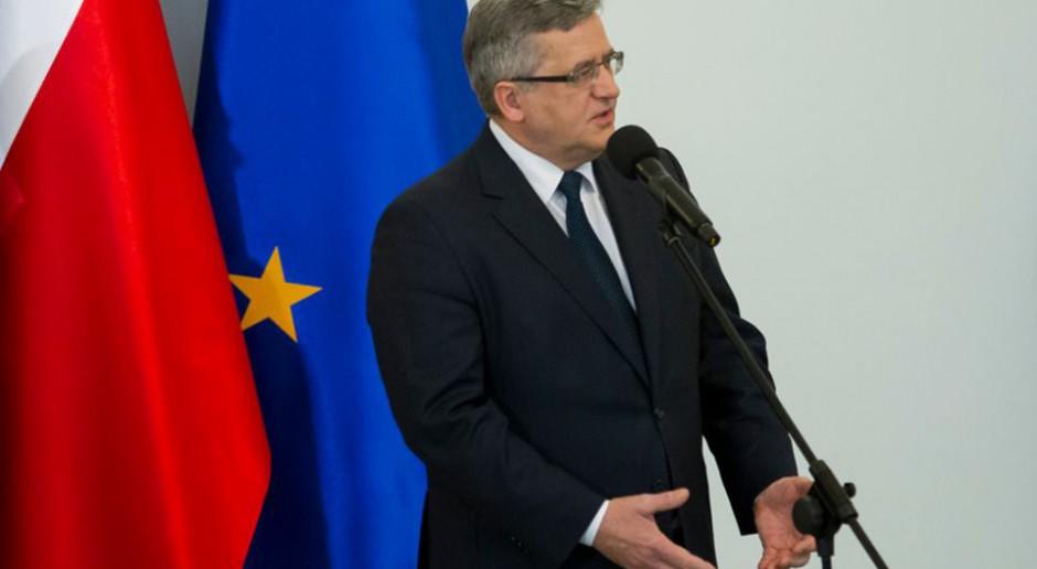 Bronisław Komorowski: Obecny rząd nie wystąpi o reparacje