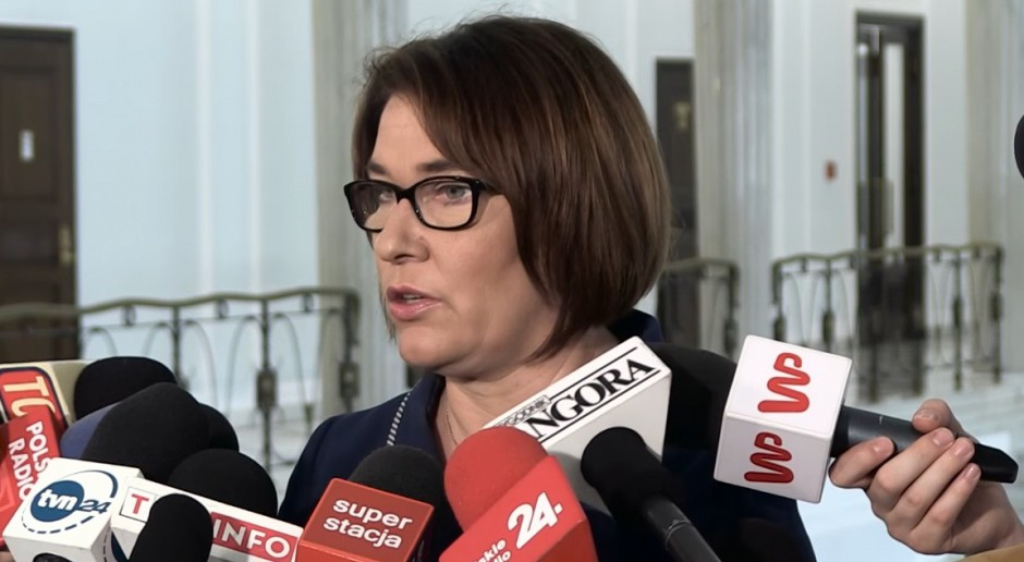 Beata Mazurek o wniosku PO ws.  Puszczy Białowieskiej: próba odwrócenia uwagi