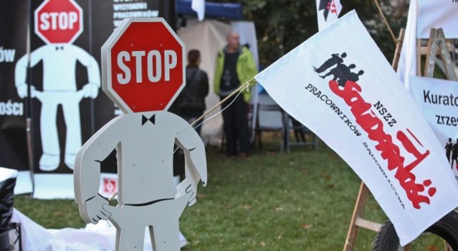Pracownicy sądów będą protestować przed Sejmem. Chcą podwyżek