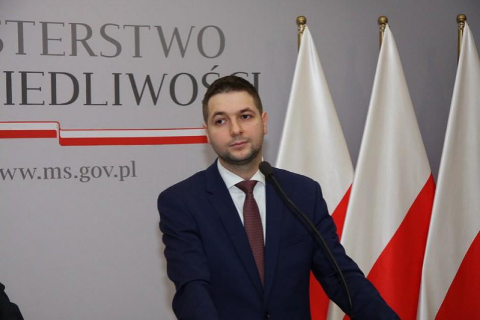 Minister Patryk Jaki (Fot. MS Twitter)