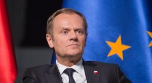 Donald Tusk skrytykował zwołanie Zgromadzenia Narodowego pod namiotem
