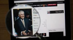 Rex Tillerson ociepla wizerunek Trumpa nad Tamizą
