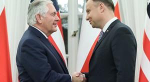 Z Davos prosto na spotkanie z Rexem Tillersonem. O czym Andrzej Duda rozmiał z sekretarzem stanu USA?