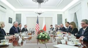 Andrzej Duda i Rex Tillerson uzgodnili polsko-amerykańską mapę działań