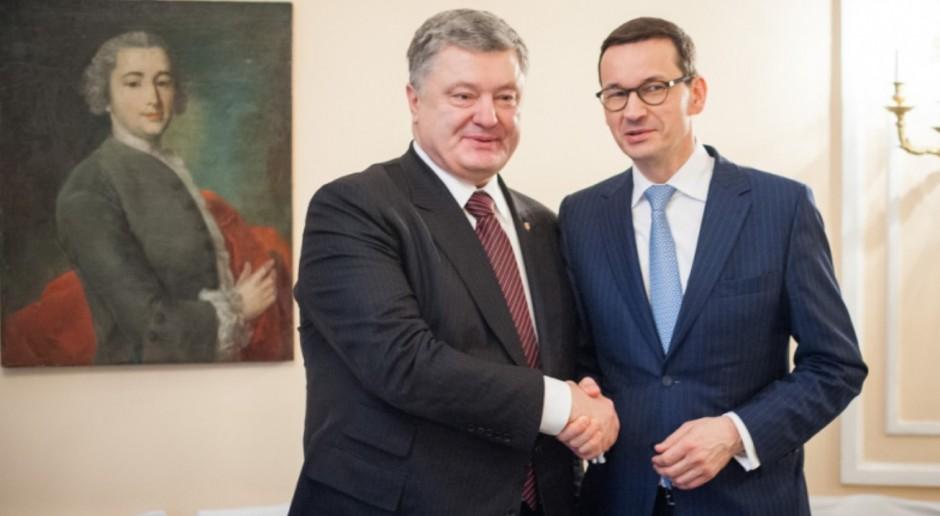 Premier: Ustawa o IPN nie jest wymierzona w relacje polsko-ukraińskie