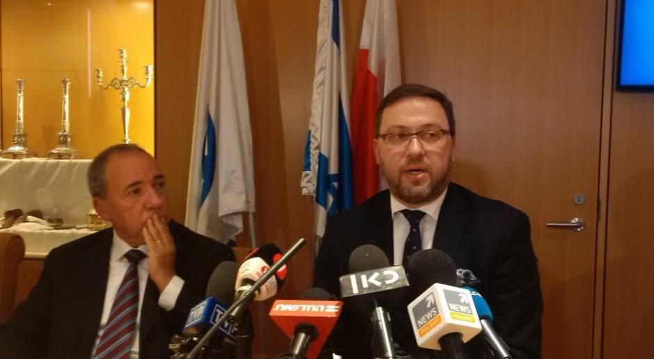 Bartosz Cichocki: Mam nadzieję, że zakończyliśmy wzajemne oskarżenia z Izraelem