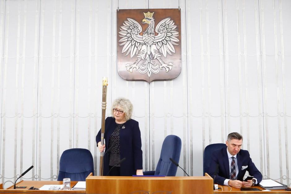 56. posiedzenie Senatu RP IX kadencji, źródło: M. Józefaciuk/Kancelaria Senatu/flickr.com/CC