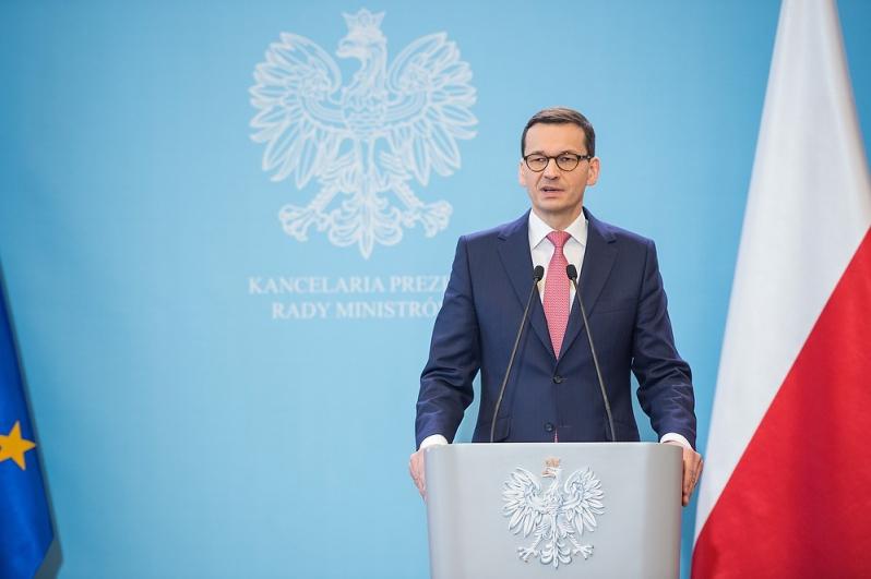 Premier zaznaczył, że redukcja wiceministrów, to nie są zmiany personalne (Mateusz Morawiecki, fot.premier.gov.pl)