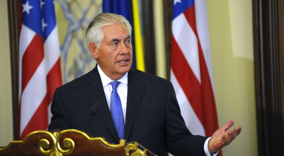 Donald Trump odwołał sekretarza stanu Rexa Tillersona