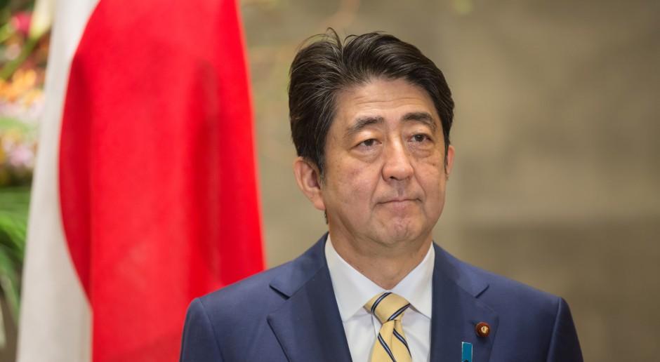 Trzęsienie ziemi w japońskim rządzie