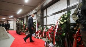 Prezydent złożył wieniec przed grobem Ryszarda Kaczorowskiego